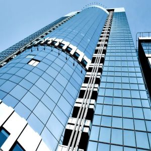 Buildings made entirely of glass are gaining popularity in major cities across the world.
