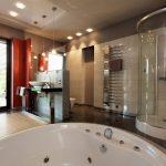 Bent Glass Design curved glass shower