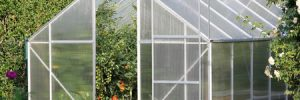 greenhouse made of glass