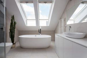 bathroom skylights for glass in home