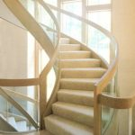 Curved Glass Stairs